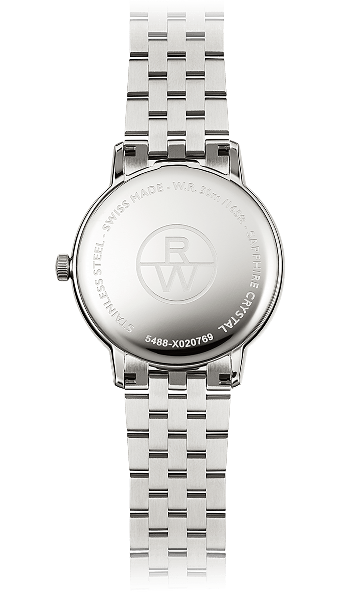 Raymond Weil Watch - TOCCATA 39mm Steel with white dial