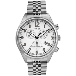 Timex - Waterbury Traditional Chronograph 42mm Stainless Steel Bracelet