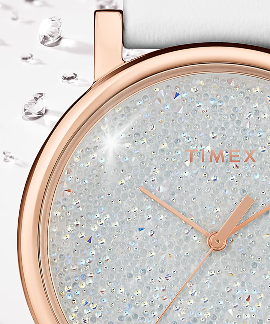 Timex - 38mm Crystal Opulence