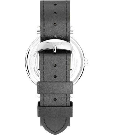 Timex - Weekender 40mm 2-Piece Leather Strap Watch