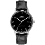 Timex - Waterbury Classic Automatic 40mm Leather Strap Watch