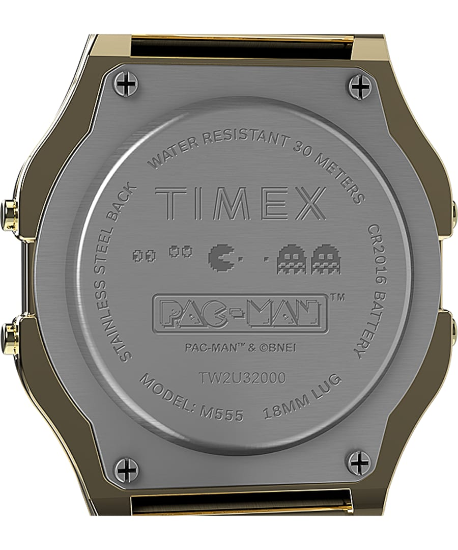 Timex T80 x Pac-Man 34mm - Gold