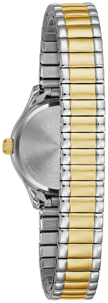 Caravelle Watch - Two-Tone Expansion