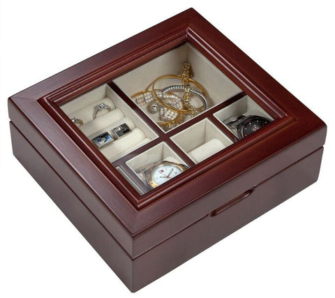 Alpine Wooden Watch & Jewellery Case