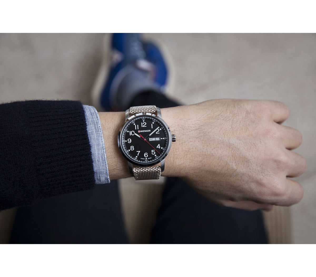 Wenger Attitude Heritage - Black Dial