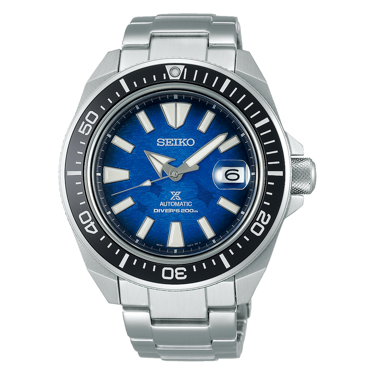 Seiko PROSPEX King Samurai - Save The Ocean Manta Ray Edition