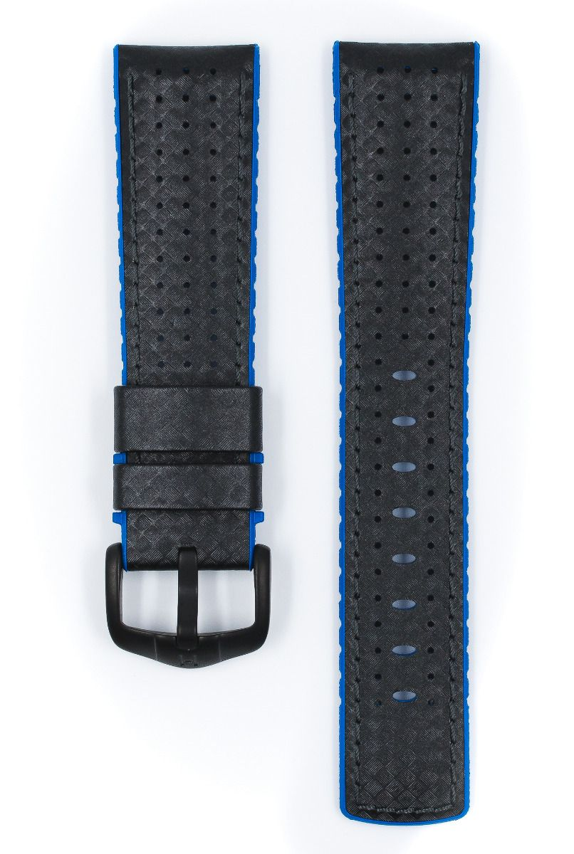 Hirsch AYRTON Carbon Embossed Performance Watch Strap