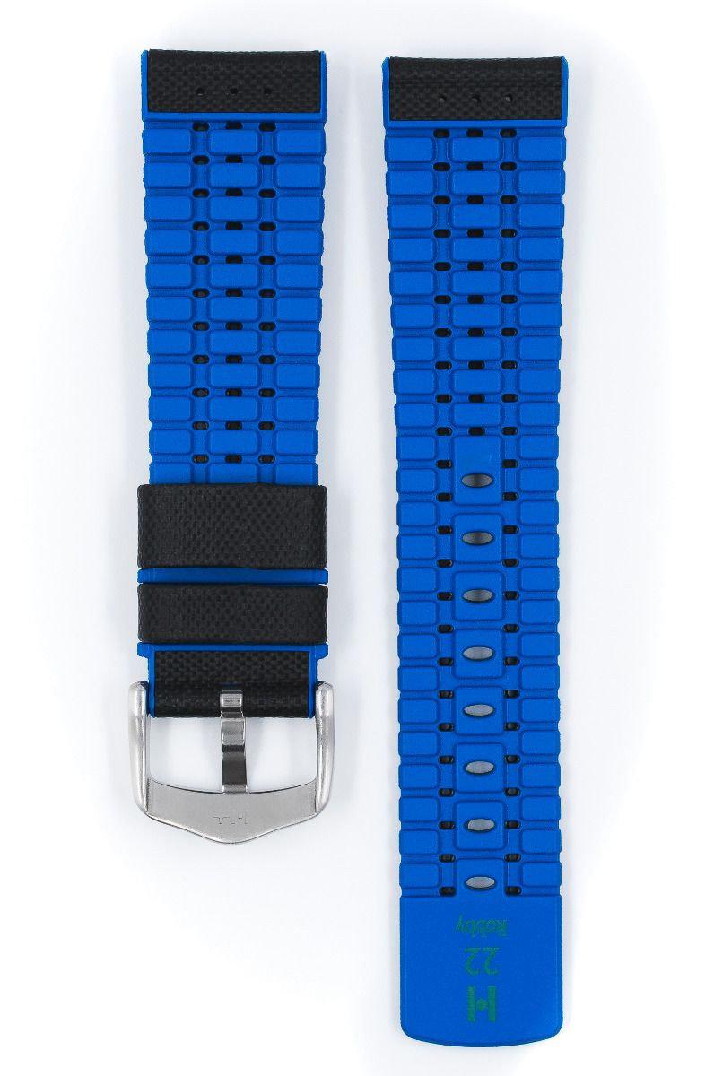 Hirsch ROBBY Sailcloth Effect Performance Watch Strap