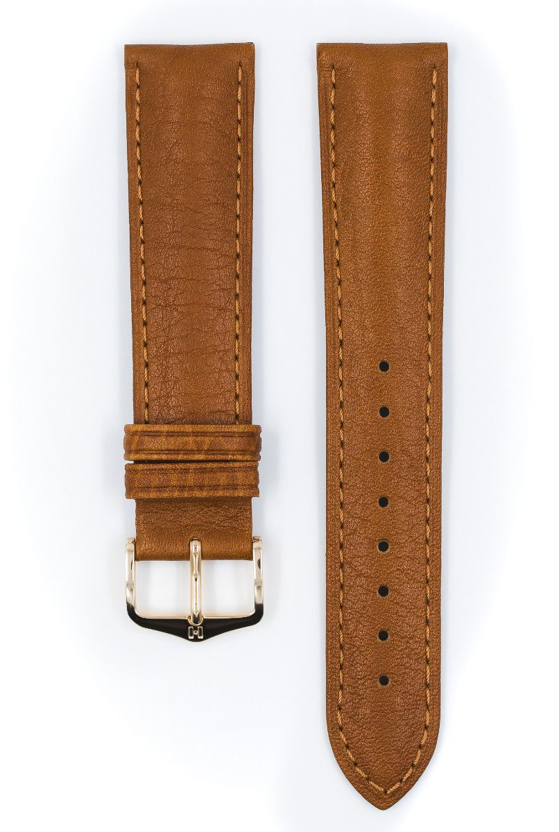 Hirsch CAMELGRAIN No Allergy Leather Watch Strap