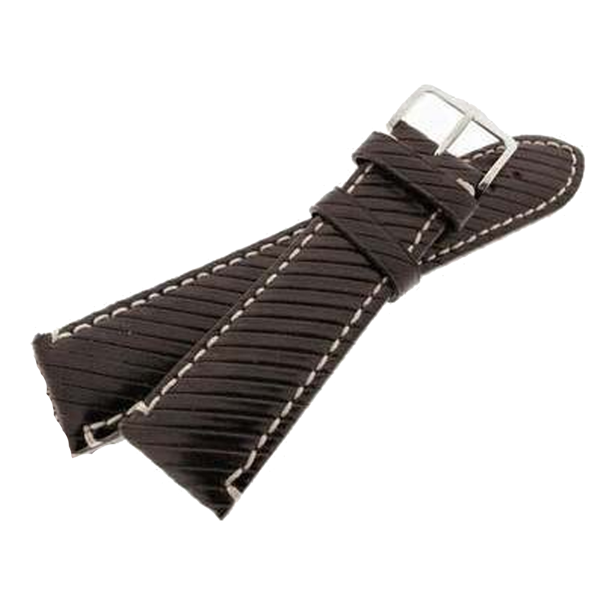 Hirsch Rivetta Leather Watch Strap