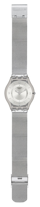 Swatch Skin Watch - Metal Knit