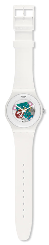 Swatch Watch - White Lacquered