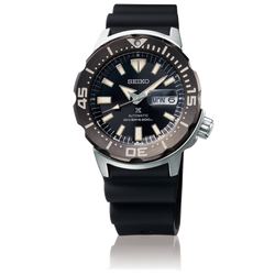 "Seiko Prospex - ""Monster"" Stainless Steel, Black Dial"