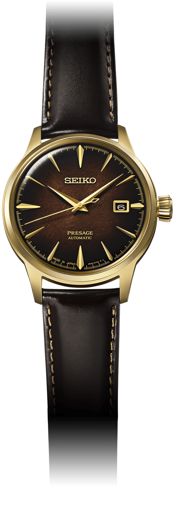 Seiko Presage - 40MM Cocktail Time Old Fashioned Limited Edition