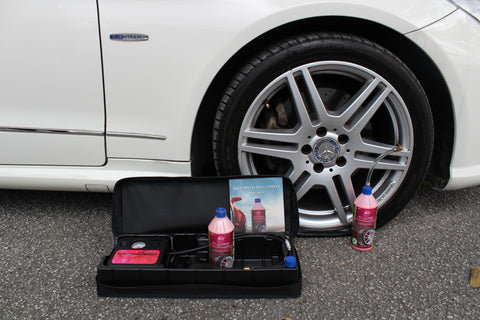 Tire Sealant: TireCare Revival Kit Installation