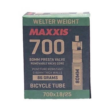700c Maxxis Tubes 80mm - TireCare Singapore Pte. Ltd.
