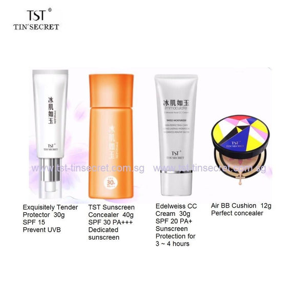 TST Sun Protection Products