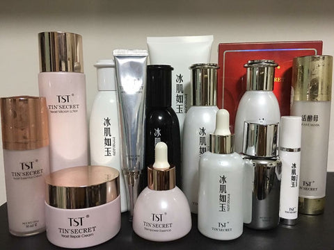 TST Tin Secret Skincare Products