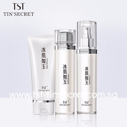 TST Tin'Secret SG Tender Cleanser + Moisturizer + Emulsion Combi Set