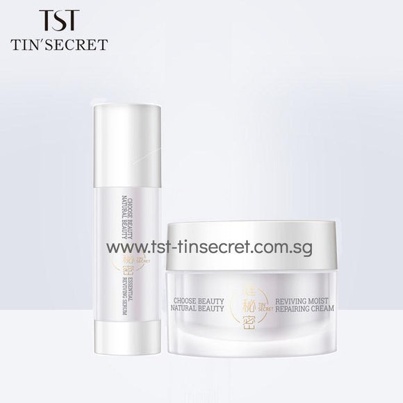 Essential Reviving Serum + Moist Repairing Cream Combi