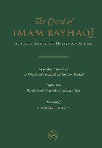 The Creed of Imam Bayhaqi - Nawa Books