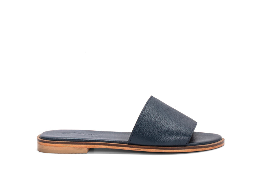 Single strap slides- BLUE
