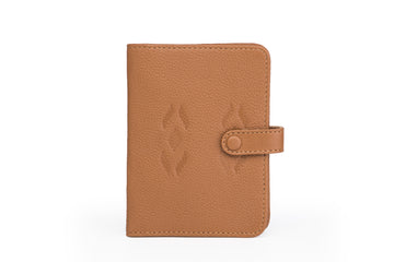 Oslo-Passport Wallet Tan