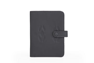 Oslo -Passport Wallet Black