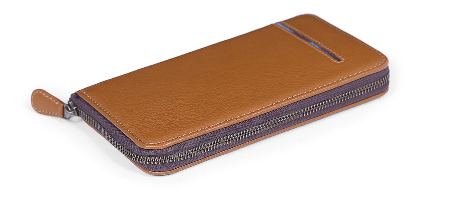 Brick Wallet- Tan