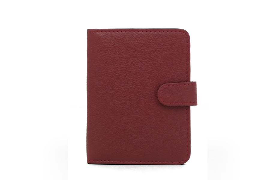 Boston-Travel Wallet Maroon