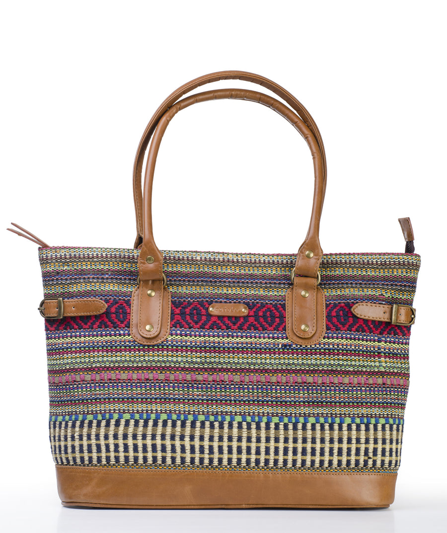 Tote- Red Durrie