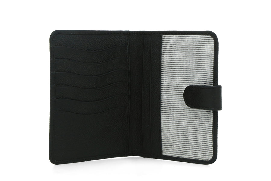 Boston-Travel Wallet Black