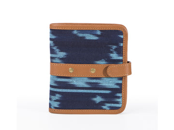 Wallet - Blue Ikat