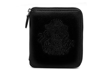 Royal Crest-Mini Wallet Black