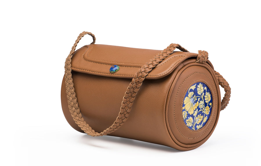 Blue Pottery Duffle