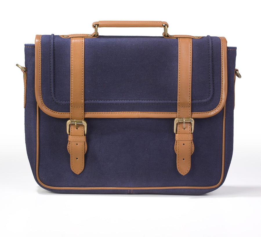 Laptop Briefcase- Indigo