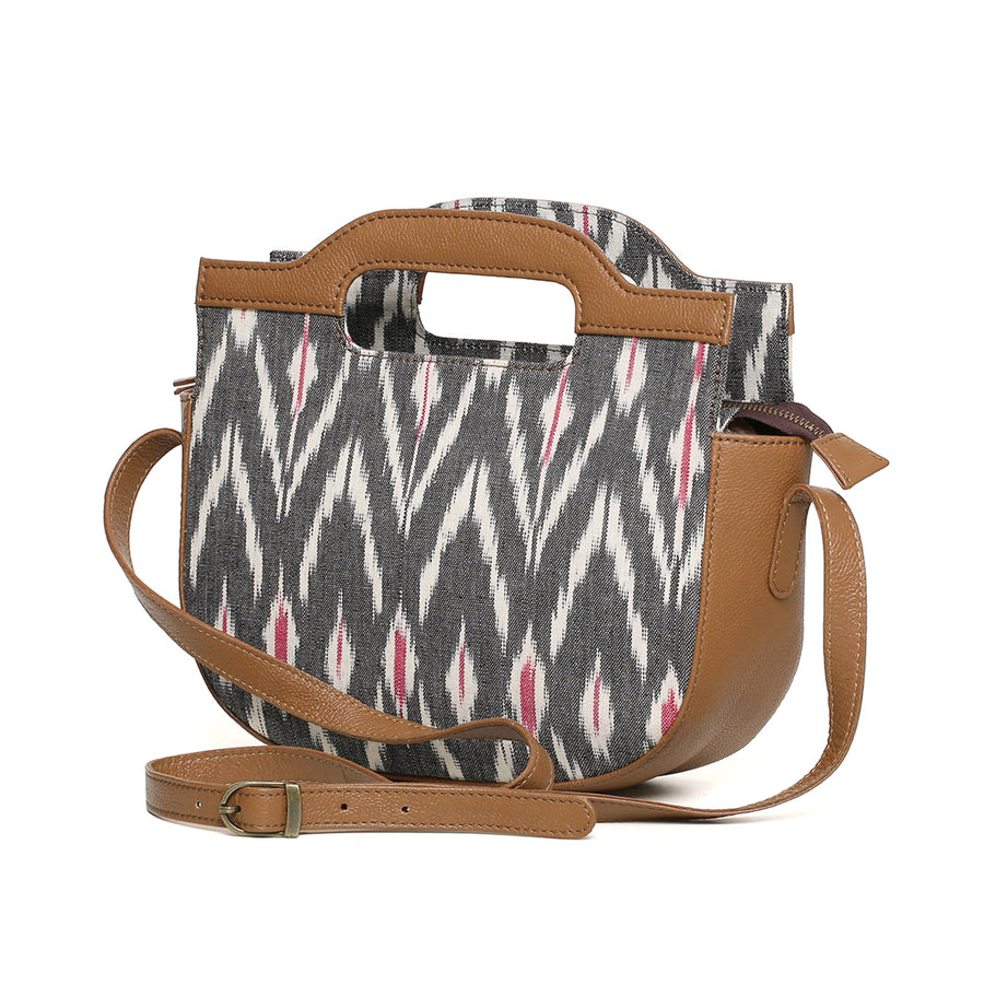 CRESCENT GREY IKAT SLING