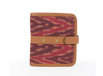 Wallet - Red Ikat