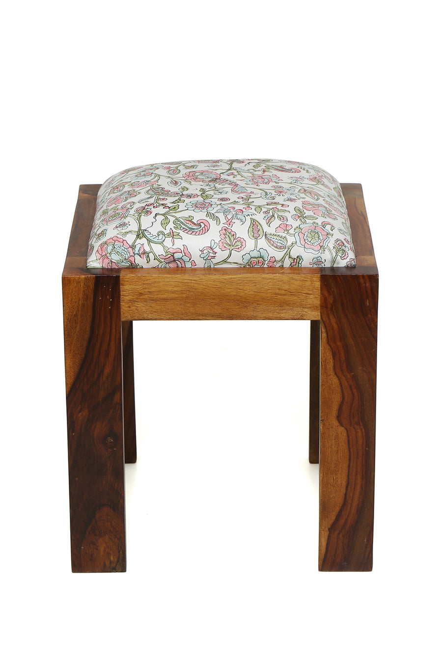 Westend Garden - Leather Side Stool