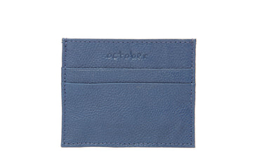 Classic Card Holder- Blue