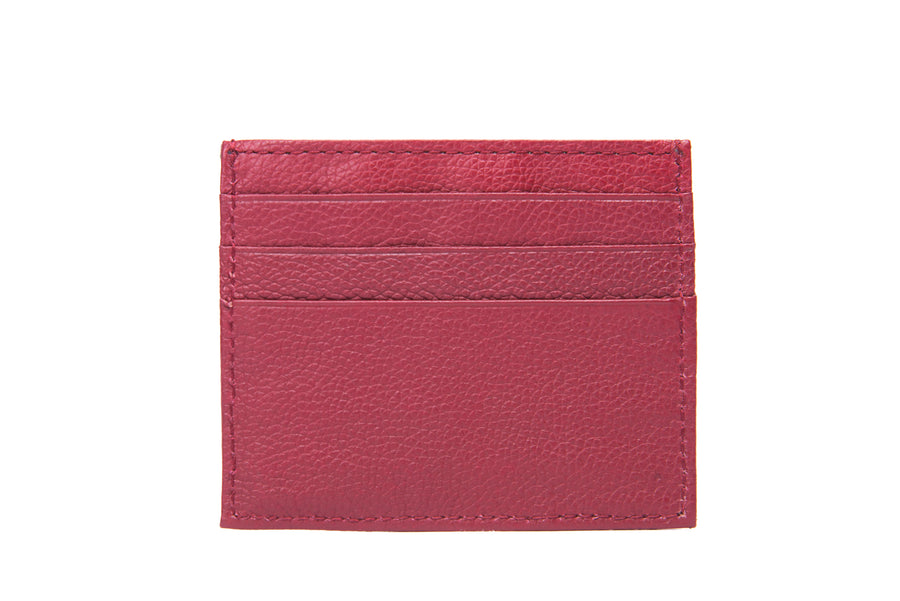 Credit Card Holder- Maroon