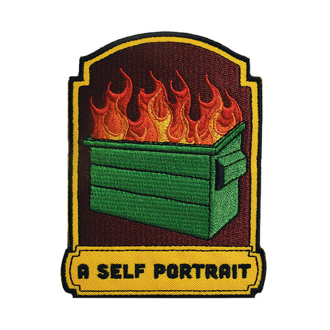 A Self Portrait Embroidered Patch
