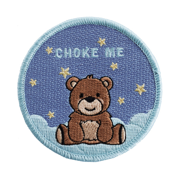 Choke Me Embroidered Patch