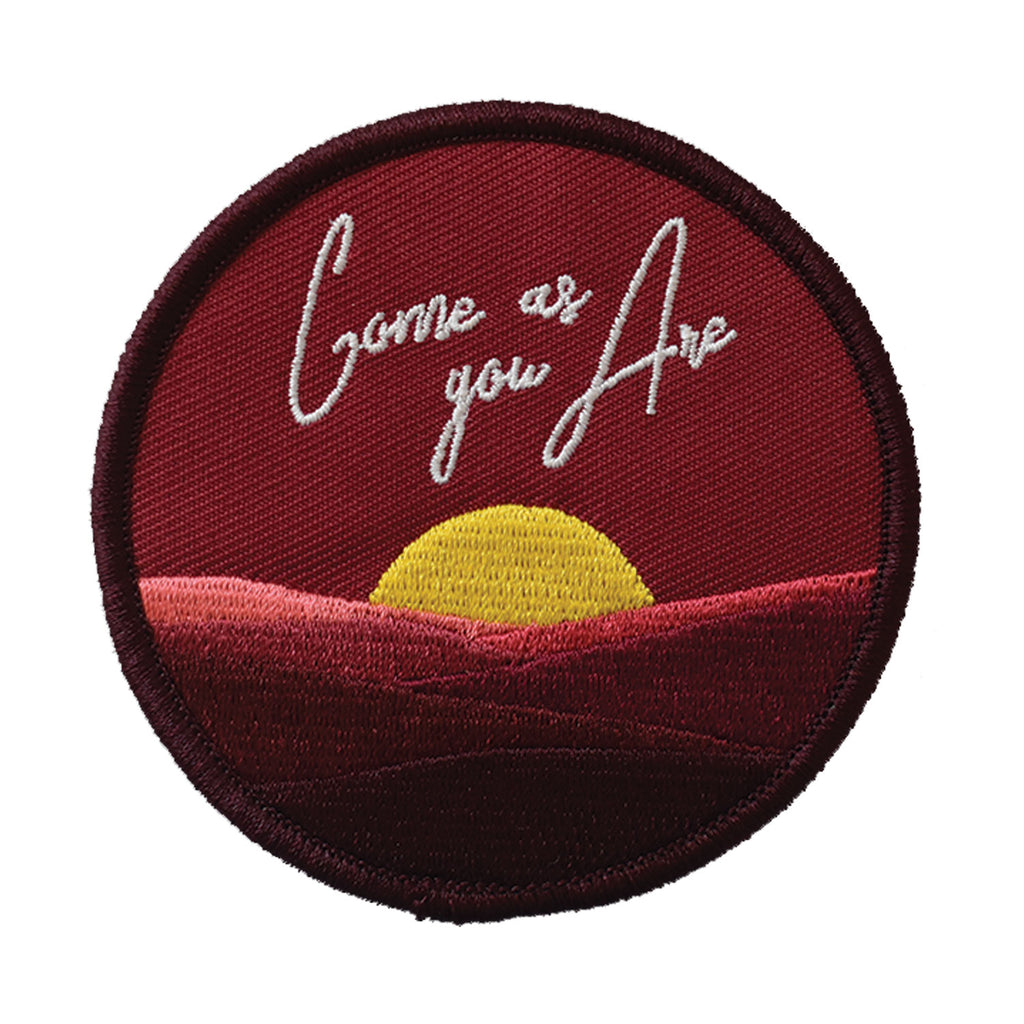Come As You Are Embroidered Patch