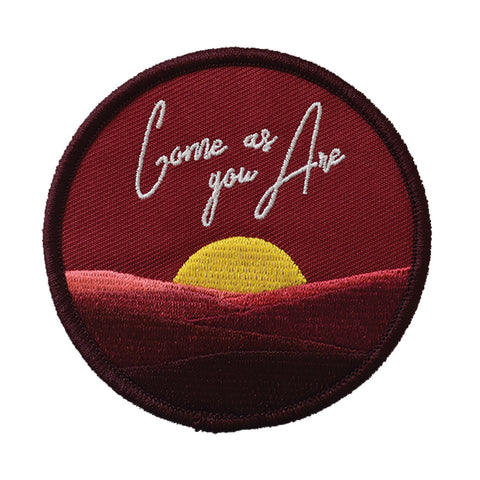 Come As You Are Embroidered Patch - Retrograde Supply Co