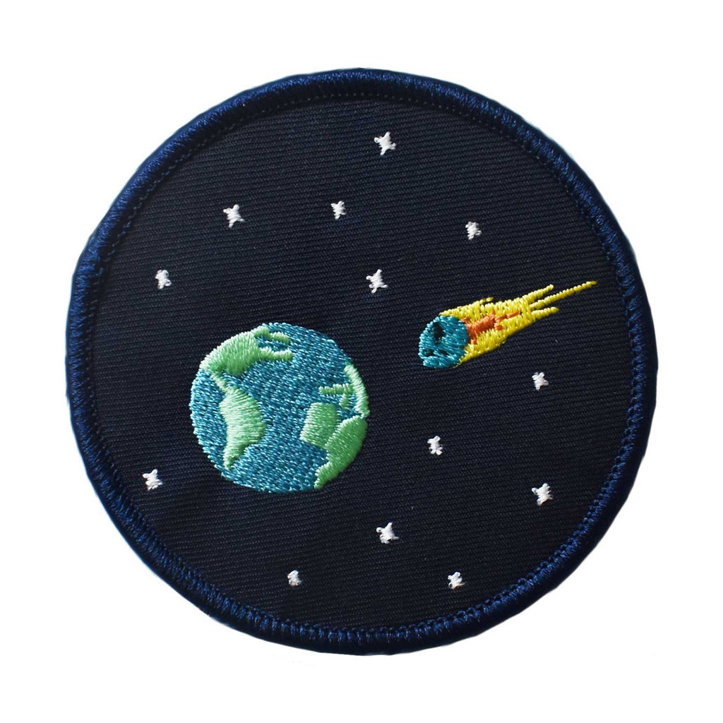 End of the World Embroidered Patch