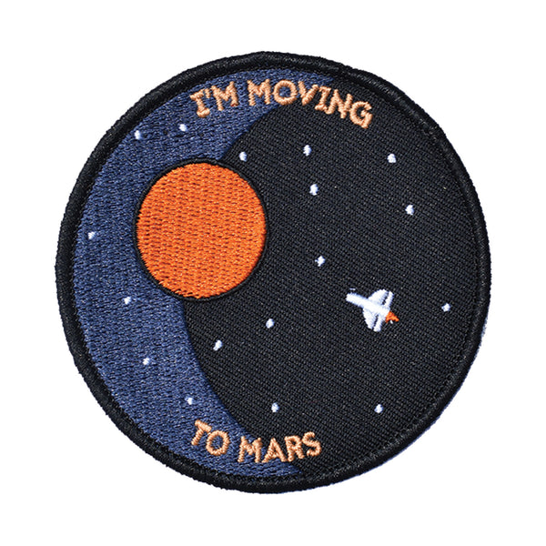 I'm Moving To Mars Embroidered Patch - Retrograde Supply Co