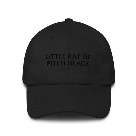 Little Ray of Pitch Black Cap
