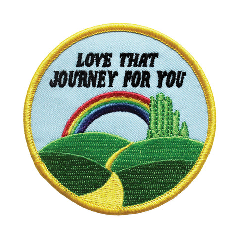 Love That Journey Embroidered Patch