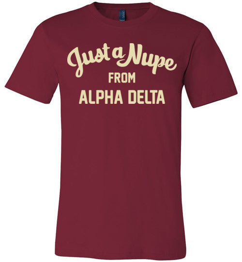 Alpha Delta Short Sleeve